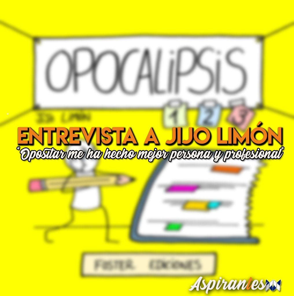 Jijo Limón atiende a Aspirantes para hablar sobre sus viñetas y su pasado como opositora.