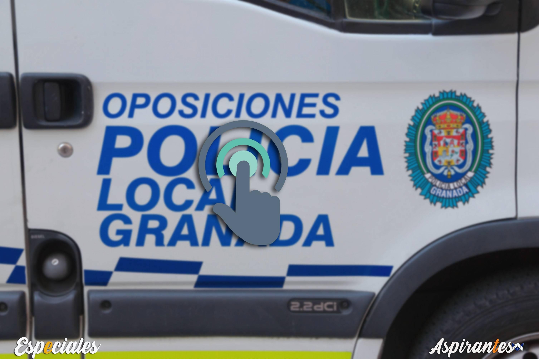 Oposiciones Policia Local en Granada: mapa interactivo con TODAS las plazas de la provincia.
