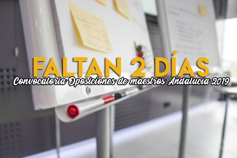 oposiciones de maestros en Andalucia 2019
