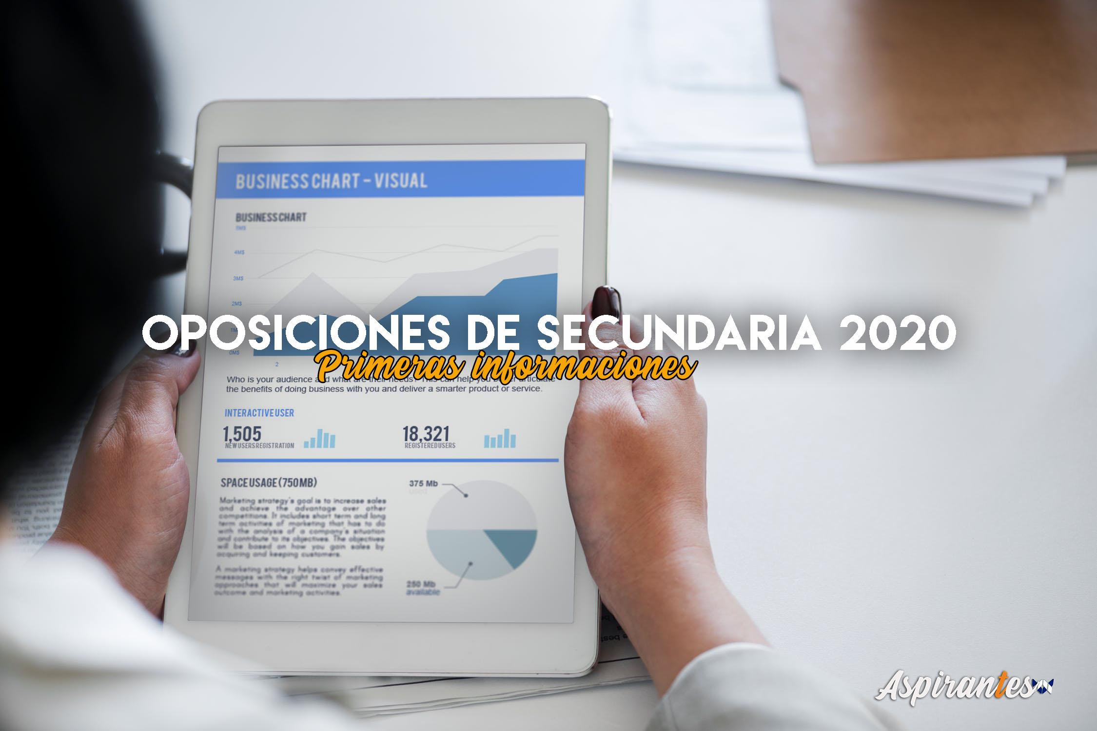 Oposiciones de Secundaria 2020: primeras informaciones disponibles. ¿Habrá nuevo temario?