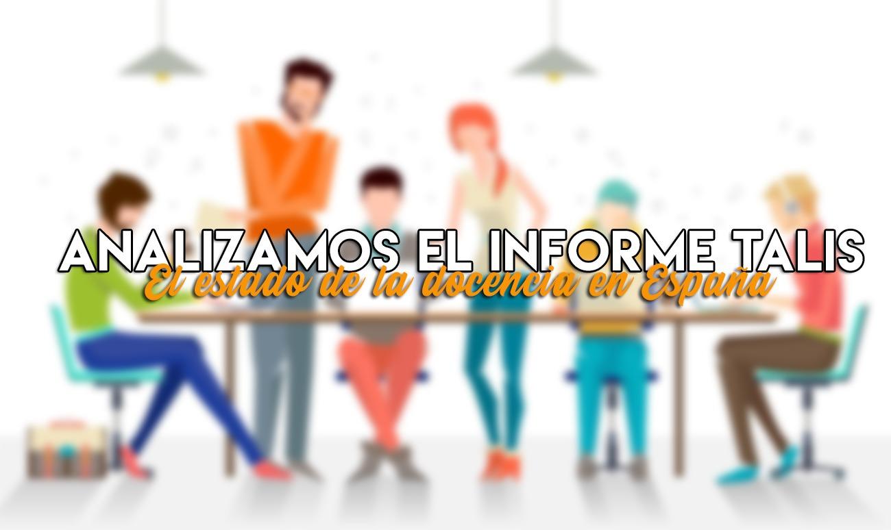 Los retos de la docencia española según el informe TALIS