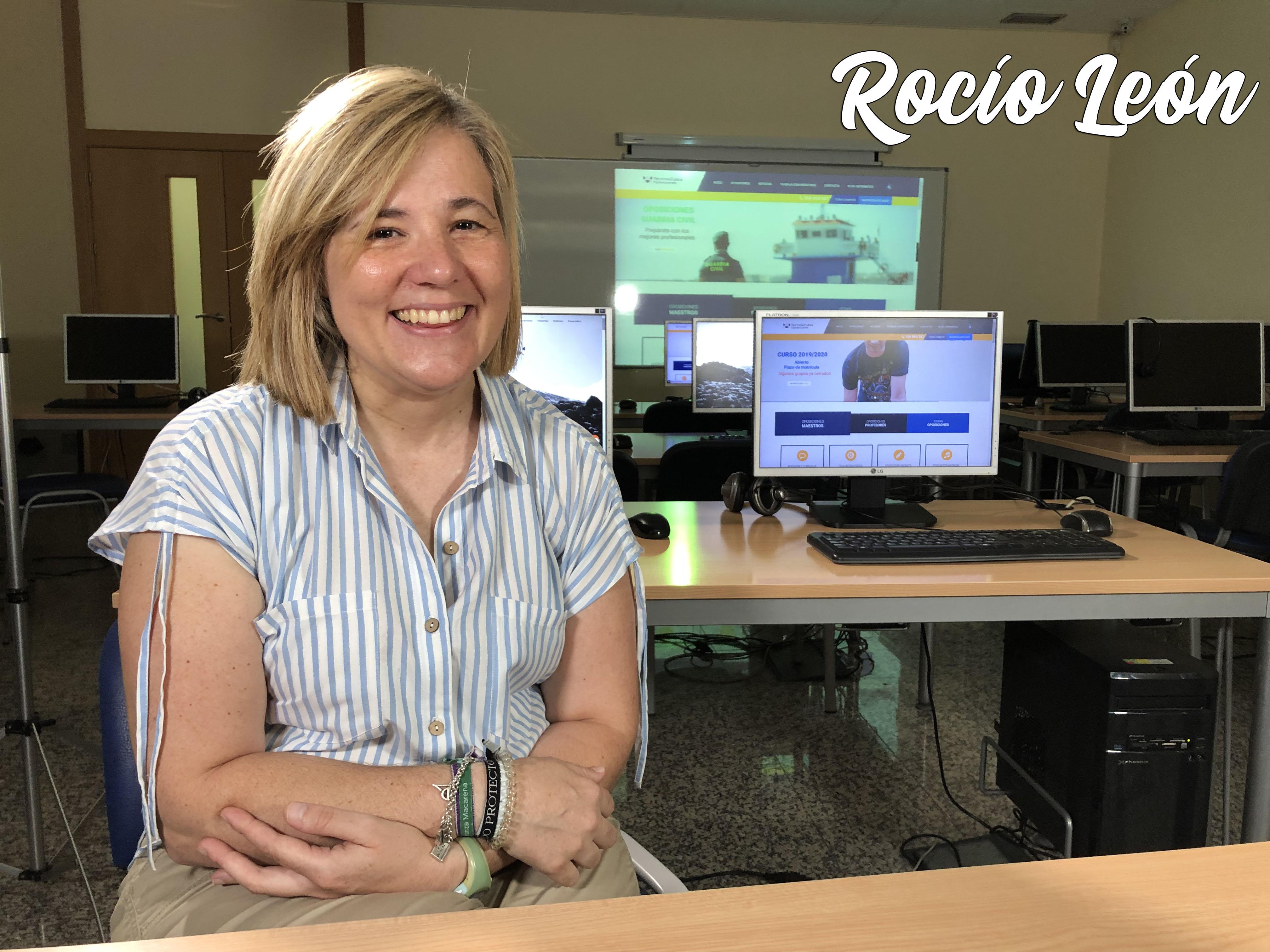 Entrevista a Rocío León, primera maestra con discapacidad intelectual en conseguir plaza.