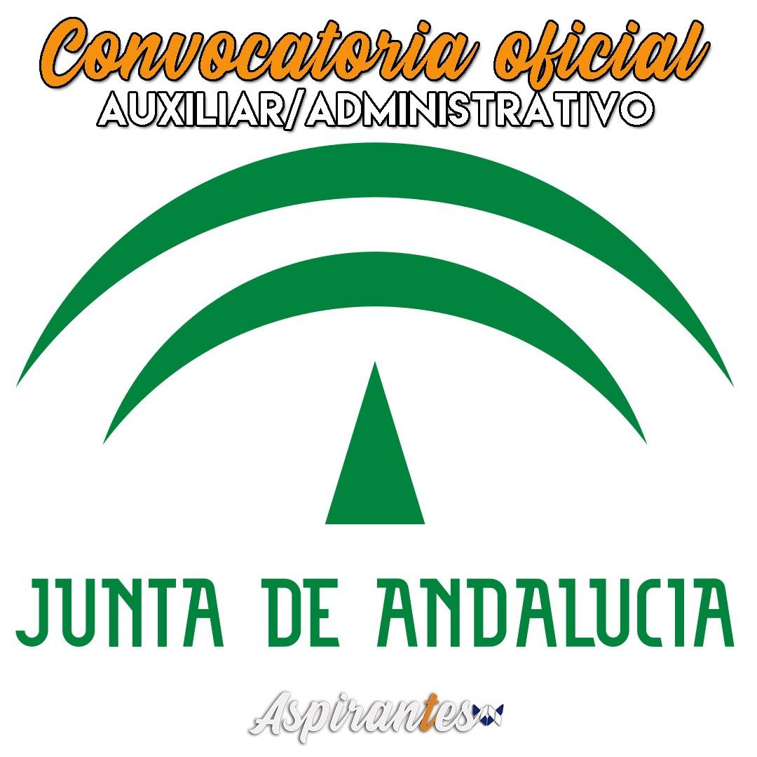 Anunciadas las oposiciones de auxiliar administrativo de la Junta de Andalucía