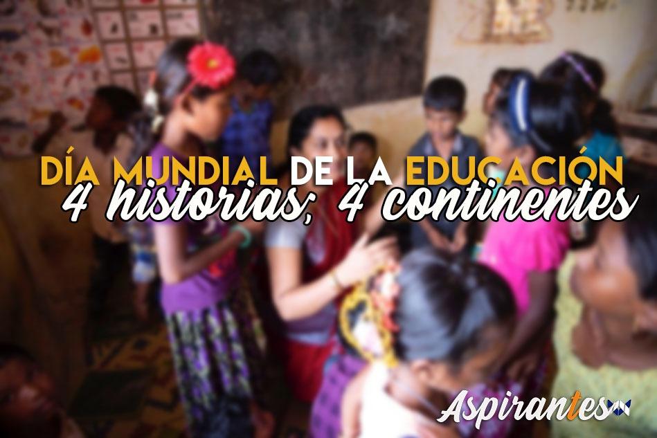 4 vidas transformadas por la educación